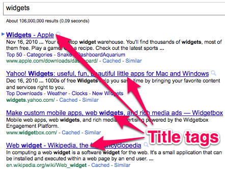 What Are Title Tags - Website Design and SEO Portland